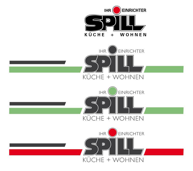 Logoentwicklung für Spill